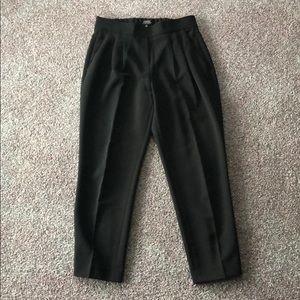 BABATON Black Ankle Pants